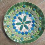 mozaieken schaal groen